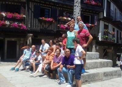 Visita a Mogarraz y la Alberca – 06/07/2015