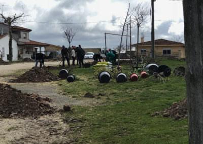 Plantación de árboles en Semana Santa 2018