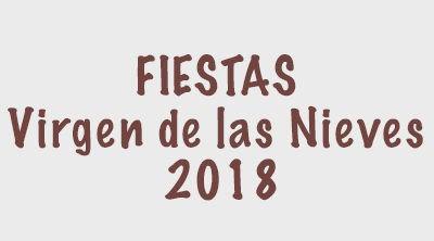 Cartel de Fiestas 2018
